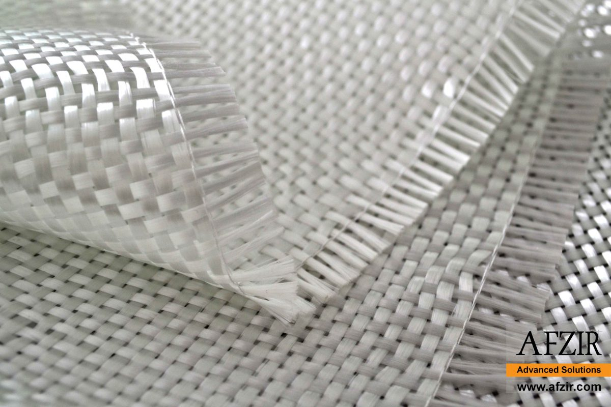 نسیج زجاج ثنائي