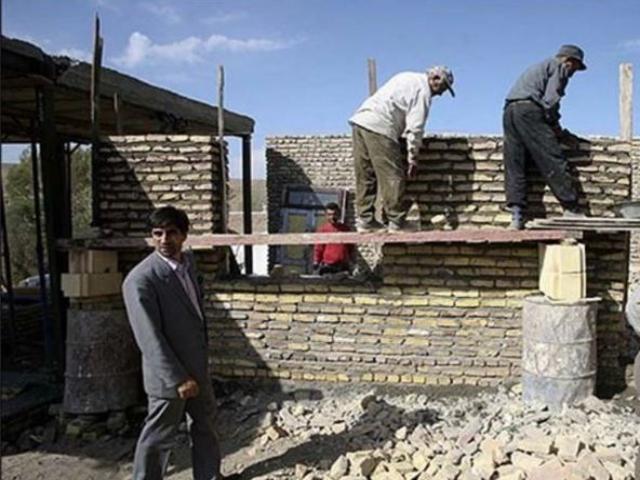 بازسازی مناطق زلزله زده کرمانشاه
