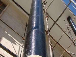 مقایسه روکش بتن مسلح، فولادی و FRP جهت مقاومسازی لرزهای تیر و ستونهای بتن مسلح