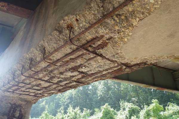 کاهش خوردگی پل های بتنی با میلگردهای FRP