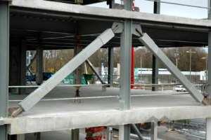 استفاده از میراگر لرزهای در سازه