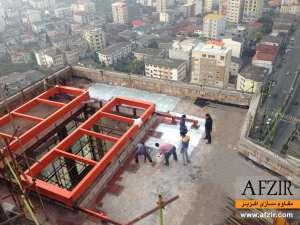 مقاوم سازی دال بتن آرمه با مصالح FRP - مقاوم سازی ساختمان