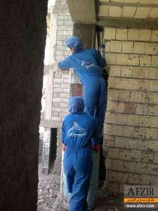 افزایش ظرفیت باربری ستون بتنی با FRP - مقاوم سازی ساختمان