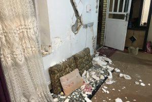 زلزله 5.4 ریشتری در استان فارس