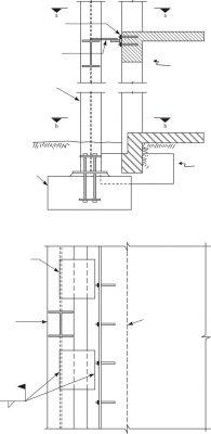 بهسازي با اضافه كردن قاب خمشي در خارج از ساختمان