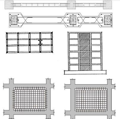 بهسازی و مقاوم سازی با اضافه کردن میان قاب بتنی و بنایی- مقاوم سازی ساختمان