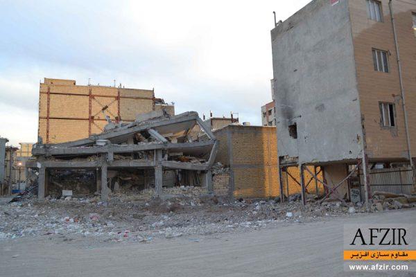 تخریب و فرو ریزش ساختمان ها در زلزله- مقاوم سازی ساختمان