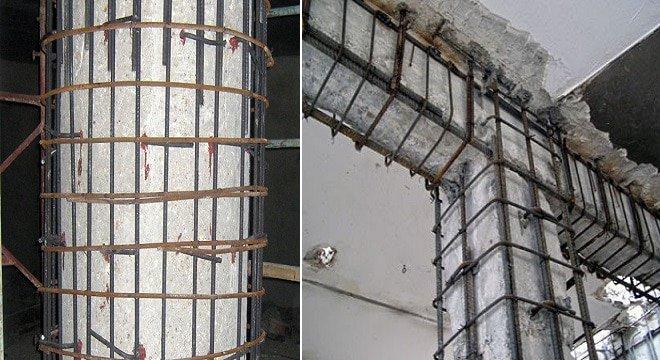 مقاوم سازی ساختمان ها با ژاکت بتنی شرکت مقاوم سازی افزیر