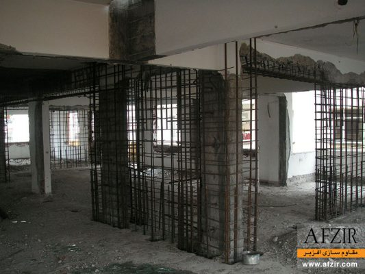 افزایش ظرفیت باربری جانبی ساختمان با استفاده از دیوار برشی فولادی