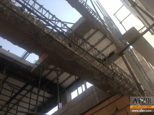 افزایش ظرفیت باربری، بهسازی و مقاوم سازی با ژاکت بتنی- مقاوم سازی ساختمان