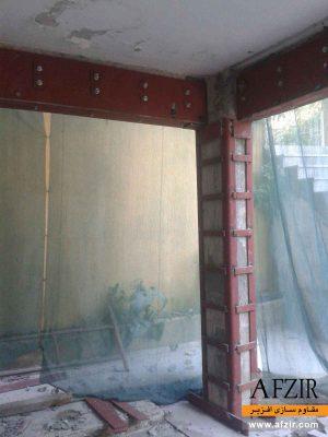 افزایش ظرفیت باربری و بهسازی ستون بتنی با ژاکت فولادی - مقاوم سازی ساختمان