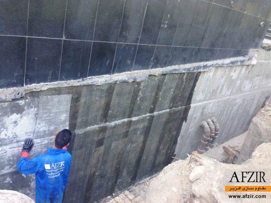 تقویت و بهسازی دیوارهای بتنی با FRP- مقاوم سازی ساختمان