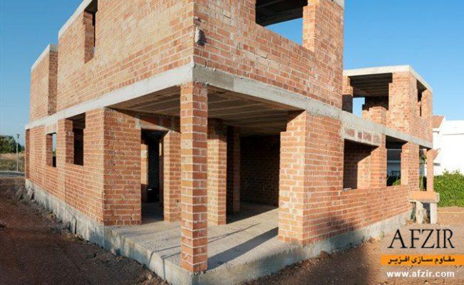 مقاوم سازی ساختمان مصالح بنایی