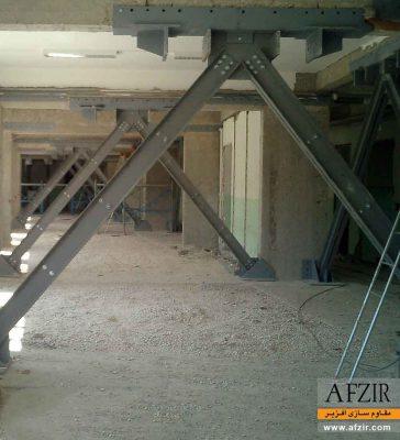 بهسازی لرزه ای و افزایش سختی جانبی با افزودن بادبند و مهاربند - مقاوم سازی ساختمان