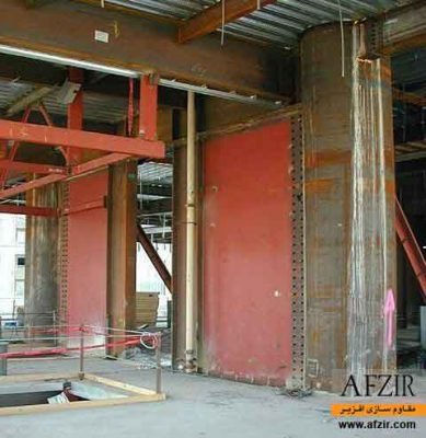 افزایش ظرفیت باربری و سختی جانبی با دیوار برشی فولادی - مقاوم سازی ساختمان