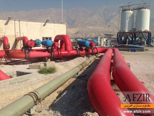 مقاوم سازی و بهسازی لوله های نفت و گاز