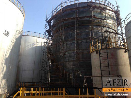 بهسازی و مقاوم سازی مخازن فولادی با الیاف FRP