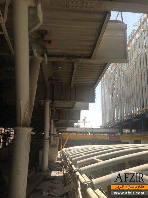 مقاوم سازی ساختمان فولادی در برابر حریق