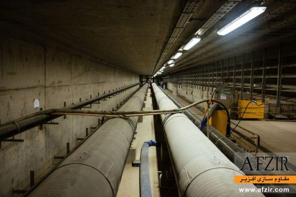 مقاوم سازی تونل دسترسی با FRP