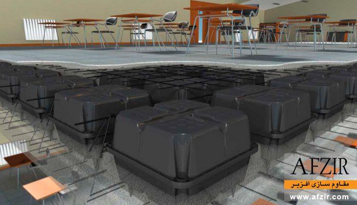 مقاوم سازی سقف یوبوت با FRP