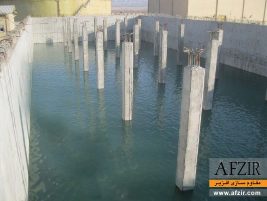 آب بندی و پوشش های محافظت از مخازن بتنی