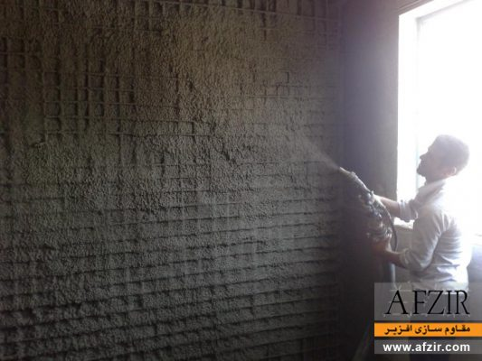 افزایش ظرفیت باربری و سختی با شاتکریت بتنی در ساختمان بنایی