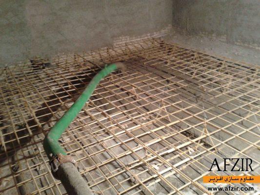 مقاوم سازی دال بتنی مسلح شده با میلگرد شیشه FRP- مقاوم سازی ساختمان