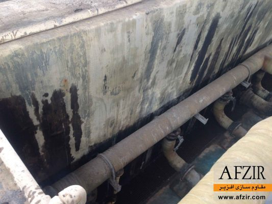 پوشش حفاظتی و لاینینگ FRP مخازن نفت و گاز