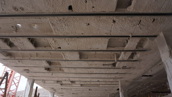 مقاوم سازی تیرچه های سقف تیرچه بلوک با لمینیت FRP