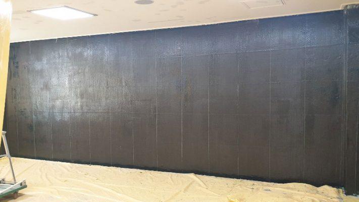 مقاوم سازی دیوار برشی ساختمان اداری با الیاف FRP