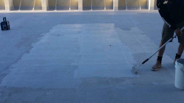 آب بندی بام ساختمان اداری